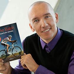 20121009: SLO, Cycling - Marko Baloh at presentation of his first book Nedokoncana zgodba