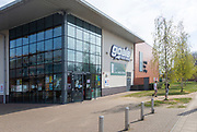 Goals Soccer centre, Suffolk New College, Ipswich, Suffolk, England, UK