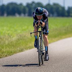 EMMEN (NED) June 16: <br />CYCLING <br />Dutch Nationals Time Trail men U23 <br />Pepijn Reinderink