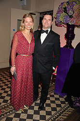 TOM & DAVINA BARBER friends of the Duke & Duchess of Cambridge at the Sugarplum Dinner - The event was for the launch of Sugarplum Children, a new website and fundraising initiative for children who live with type 1 diabetes, and to raise money for JDRF (Juvenile Diabetes Research Foundation) held at One Mayfair, 13A North Audley Street, London on 20th November 2013.