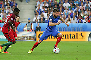 France Forward Olivier Giroud during the Euro 2016 final between Portugal and France at Stade de France, Saint-Denis, Paris, France on 10 July 2016. Photo by Phil Duncan.