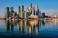 Singapour, Marina Bay, quartier des affaires // Singapore, Marina Bay, business center
