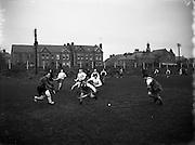 Munster vs Ulster Schoolgirls Hockey at Churchill Terrace for Cork Examiner .27/03/1958 .