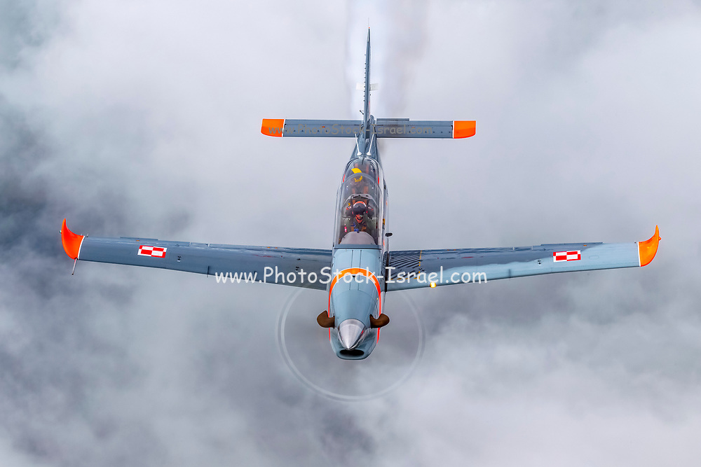Orlik Aerobatic Team the aerobatic team of the Polish Air Force flying  the PZL-130 Orlik. Photographed at Royal International Air Tattoo (RIAT)