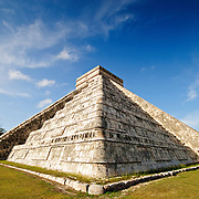 El Castillo (also known as Temple of Kuklcan) at the ancient Mayan ruins at Chichen Itza, Yucatan, Mexico 081216092848_4416x.tif