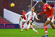 Ben Reeves of Charlton Athletic (12) passes the ball during the EFL Sky Bet League 1 match between Barnsley and Charlton Athletic at Oakwell, Barnsley, England on 29 December 2018.