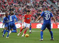 20090117: LISBON, PORTUGAL - SL Benfica vs Belenenses: Portuguese League Cup 2008/2009. In picture: Katsouranis (Benfica). PHOTO: Alvaro Isidoro/CITYFILES