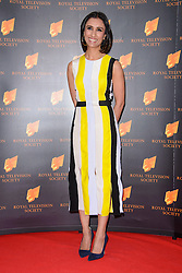 Anita Rani attends the RTS Programme Awards. London, United Kingdom. Tuesday, 18th March 2014. Picture by Chris Joseph / i-Images