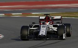 February 19, 2019 - Barcelona, Spain - Motorsports: FIA Formula One World Championship 2019, Test in Barcelona, , #99 Antonio Giovinazzi (IT ITAL Team Alfa Romeo) (Credit Image: © Hoch Zwei via ZUMA Wire)