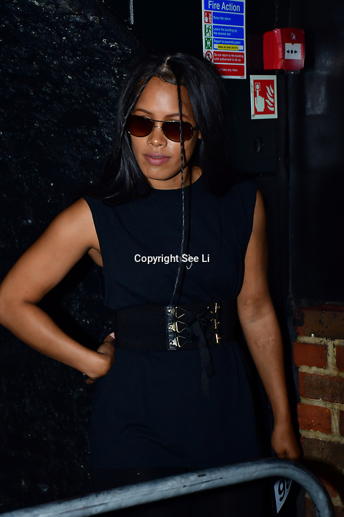"""Designer Quinten Cumberback showcases at The Third Annual Integrity Awards by Dragon Lady Productions and The Peace Project 21st """"The Alternative Fashion Integrity Awards 2019 & Film Networking Soirée"""" on 21 September 2019, Fire Club Vauxhall, London, UK."""