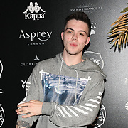 FaZe Adapt attend the Official launch party for the annual Gumball 3000 Rally took place at Proud Embankment on August 4 2018, London, UK.