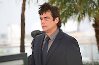 Benicio Del Toro at the Jimmy P. Psychotherapy of a Plains Indian film photocall at the Cannes Film Festival 18th May 2013