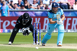 Jonny Bairstow of England bats - Mandatory by-line: Robbie Stephenson/JMP - 03/07/2019 - CRICKET - Emirates Riverside - Chester-le-Street, England - England v New Zealand - ICC Cricket World Cup 2019 - Group Stage
