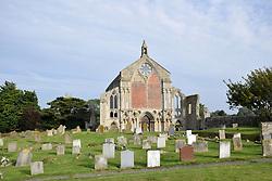 Binham Priory, Norfolk, ruined Benedictine priory