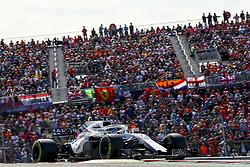 October 21, 2018 - Austin, United States - Motorsports: FIA Formula One World Championship; 2018; Grand Prix; United States, FORMULA 1 PIRELLI 2018 UNITED S GRAND PRIX , Circuit of The Americas#18 Lance Stroll ( CAN, Williams Martini Racing) (Credit Image: © Hoch Zwei via ZUMA Wire)