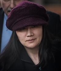 Huawei Chief Financial Officer Meng Wanzhou Leaving Court - 29 Jan 2019
