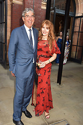 Michael Ward and Charlotte Tilbury at the Victoria & Albert Museum's Summer Party in partnership with Harrods at The V&A Museum, Exhibition Road, London, England. 20 June 2018.