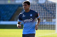 Portrait of Wycombe Wanderers defender Andre Burley (34) during the EFL Sky Bet Championship match between Wycombe Wanderers and Norwich City at Adams Park, High Wycombe, England on 28 February 2021.