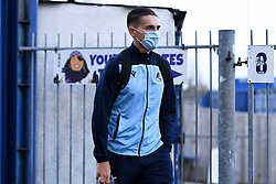 Josh Hare of Bristol Rovers arrives at Memorial Stadium prior to kick off - Mandatory by-line: Ryan Hiscott/JMP - 27/10/2020 - FOOTBALL - Memorial Stadium - Bristol, England - Bristol Rovers v Hull City - Sky Bet League One