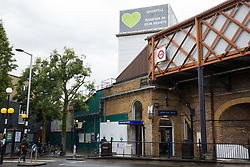London, UK. 13 June, 2019. Grenfell Tower in North Kensington. Tomorrow, the Grenfell community will mark the second anniversary of the Grenfell Tower fire on 14th June 2017 in which 72 people died and over 70 were injured. Two years on, some family members remain in temporary accommodation and many are still traumatised. Phase 2 of the Grenfell Inquiry will begin in 2020, with criminal investigation findings expected to be sent to the Crown Prosecution Service in 2021.