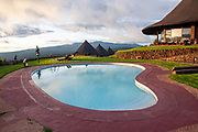 Tourist's Lodge at Ngorongoro Conservation Area, Tanzania