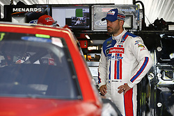 June 1, 2018 - Long Pond, Pennsylvania, United States of America - Paul Menard (21) hangs out in the garage during practice for the Pocono 400 at Pocono Raceway in Long Pond, Pennsylvania. (Credit Image: © Justin R. Noe Asp Inc/ASP via ZUMA Wire)