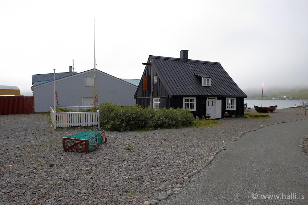 Museum at Nedsti Kaupstadur in Isafjordur, Iceland - Neðstikaupstaður á Ísafirði