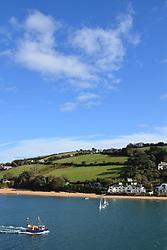 East Portlemouth from Salcombe, Devon UK Oct 2020