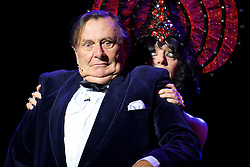 Australia's greatest cultural export Barry Humphries curates, presents and performs an evening of so-called 'degenerate' music from Germany's Weimar Republic, joined by transgressive cabaret sensation Meow Meow and the gutsy players of the Australian Chamber Orchestra, under charismatic Director Richard Tognetti. The Usher Hall, Edinburgh, 8th August 2016(c) Brian Anderson | Edinburgh Elite media