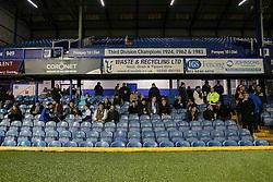 Bristol Rovers fans at Fratton Park - Mandatory by-line: Jason Brown/JMP - 08/11/2016 - FOOTBALL - Fratton Park - Portsmouth, England - Portsmouth v Bristol Rovers - Checkatrade Trophy