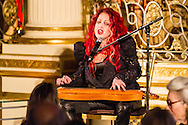 Cyndi Lauper performs at the Citymeals-on-Wheels 27th Annual Power Lunch for Women, November 22, 2013, at the Plaza Hotel.