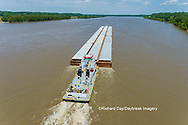 63807-01204 Barge on the Mississippi river near Thebes, IL