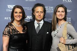 November 2, 2016 - New York, New York, USA - Melinda Gates, David Lauren and Lauren Bush attend the WSJ Magazine Innovator Awards 2016 at Museum of Modern Art on November 2, 2016 in New York City. (Credit Image: © Future-Image via ZUMA Press)
