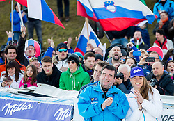 Srecko Vilar and Tina Maze after the 2nd Run of the 7th Ladies' Giant slalom at 52nd Golden Fox - Maribor of Audi FIS Ski World Cup 2015/16, on January 30, 2016 in Pohorje, Maribor, Slovenia. Photo by Vid Ponikvar / Sportida