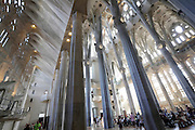 interior Sagrada Familia Barcelona Spain