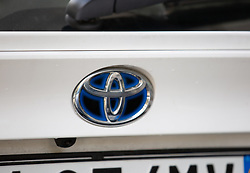 November 2, 2018 - Unspecified, UNSPECIFIED - A car of the japanese car manufacturer Toyota, who had to recall 1.6 million cars because of problems with the airbags. (Credit Image: © Alexander Pohl/NurPhoto via ZUMA Press)