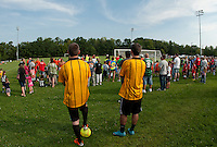 Laconia Youth Soccer Opening Day ceremony at Robbie Mills Sports Complex and opening games at Opechee Park on August 27, 2011.