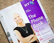British Telecom BT Phone Book local directory for Ipswich area, 2013-2014, UK