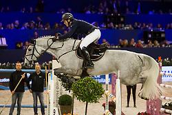 Hanley Cameron, IRL, Quirex<br /> Jumping Amsterdam 2018<br /> © Sharon Vandeput<br /> 26/01/18