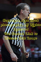 22 January 2014:  Randy Heimerman during an NCAA Missouri Valley Conference mens basketball game between the Shockers of Wichita Stat and the Illinois State Redbirds  in Redbird Arena, Normal IL.