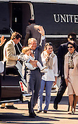 President Jimmy Carter disembarks Marine One holding grandson Jason Carter in his arm beginning an Easter weekend visit to Calhoun, Georgia in 1979. Grandson Jason Carter - now 39- was defeated in a run for governor in the 2014 Georgia general election. - To license this image, click on the shopping cart below -