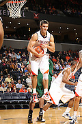 Nov. 15, 2010; Charlottesville, VA, USA; Virginia Cavaliers guard Billy Baron (15) grabs a rebound during the game against the USC Upstate Spartans at the John Paul Jones Arena.  Mandatory Credit: Andrew Shurtleff