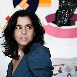 PARIS, FRANCE. NOVEMBER 4, 2011. Lebanese artist Lamia Ziade at her place in Paris. Photo: Antoine Doyen
