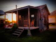 September 26, 2013 - Shack in Clarksdale, Mississippi.