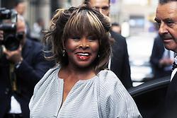 May 3, 2015 - Milano - 1126934 : (Riccardo Antimiani / EIDON),  2015-04-29 Milano - 40years of Armani - Reopening of the boutique in via Montenapoleone - Tina Turner (Credit Image: © Riccardo Antimiani/Eidon Press/ZUMA Wire)