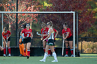 St Paul's School girls varsity Field Hockey with New Hampton.    ©2020 Karen Bobotas Photographer