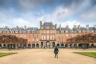 Vosgues Square (Place des Vosgues), Paris, France