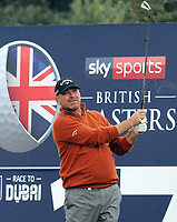 Golf - 2018 Sky Sports British Masters - Thursday, First Round<br /> <br /> Thomas Bjorn of Denmark, at Walton Heath Golf Club.<br /> <br /> COLORSPORT/ANDREW COWIE