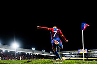 LONDON, ENGLAND - DECEMBER 01: Max Meyer of Crystal Palace take corner kick during the Premier League match between Crystal Palace and Burnley FC at Selhurst Park on December 1, 2018 in London, United Kingdom. (Photo by Sebastian Frej/MB Media)