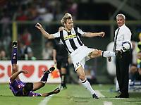 "Pavel Nedved ( Juventus ) <br /> Firenze 31/08/2008 Stadio ""Franchi"" <br /> Campionato Italiano Serie A 2008/2009<br /> Fiorentina Juventus (1-1)<br /> Foto Davide Elias Insidefoto"